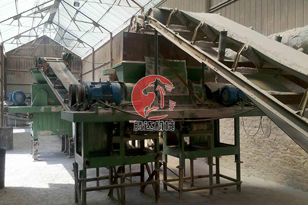 时产20吨压球机生产线