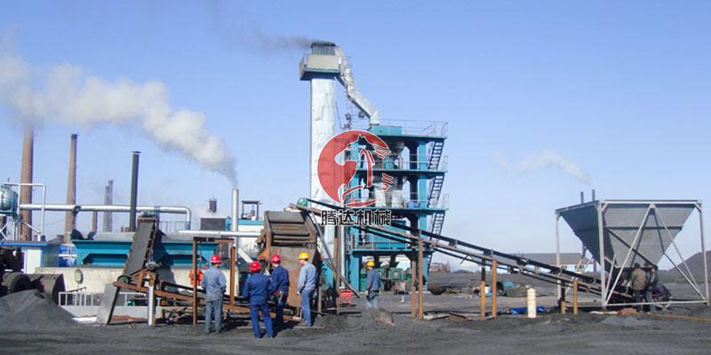 时产10吨压球机生产线