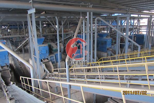 时产25吨压球机生产线